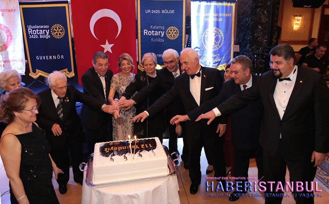 Rotary celebrates the 112th anniversary