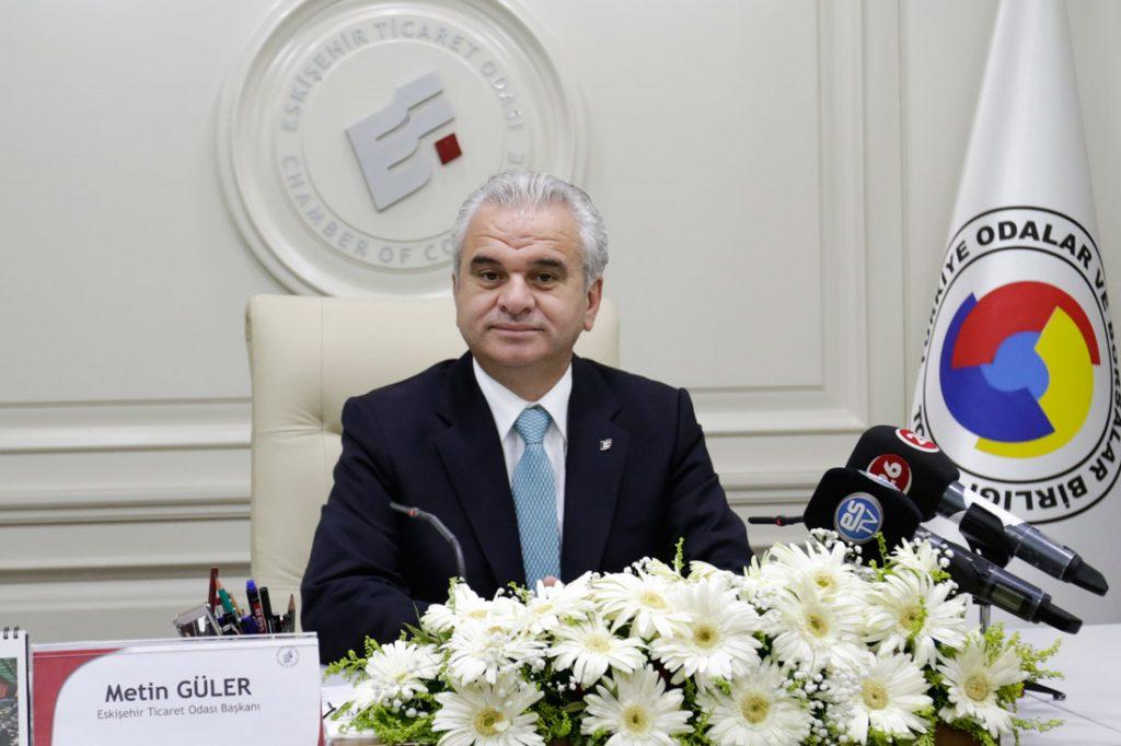 Eskişehir Ticarer Odası Başkanı Metin Güler