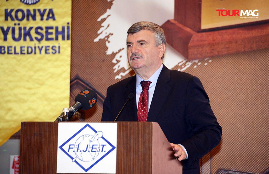 Konya Metropolitan Mayor Tahir Akyürek