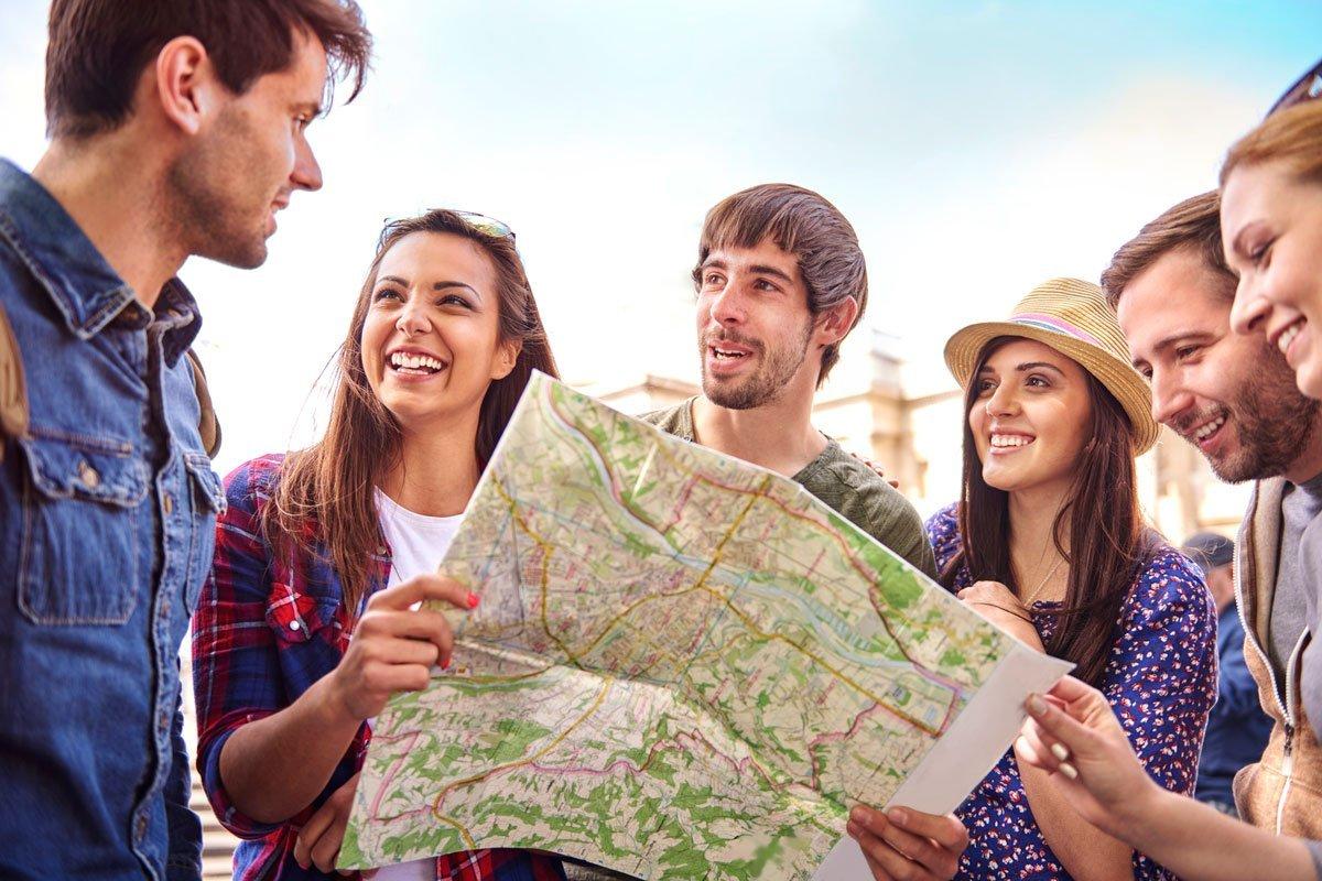 Для туры знакомства путешествий