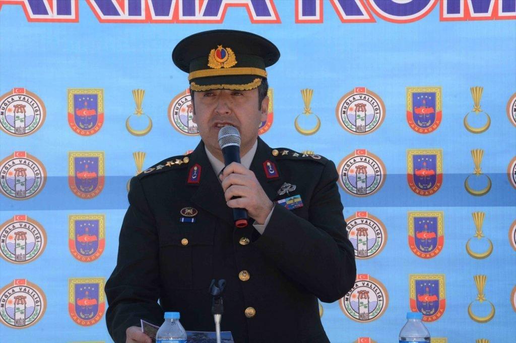 Muğla İl Jandarma Komutanı Yavuz Özfidan