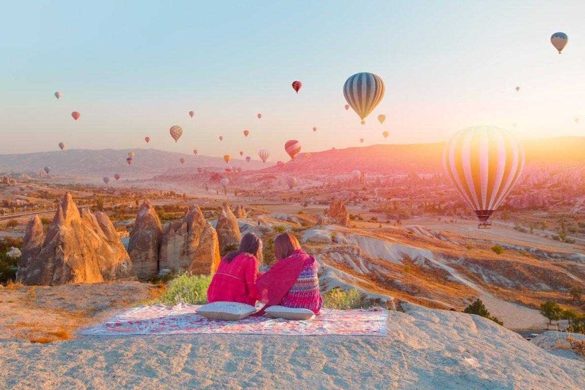 Kapadokya'ya gelen turist sayısı son 3 yılın zirvesinde