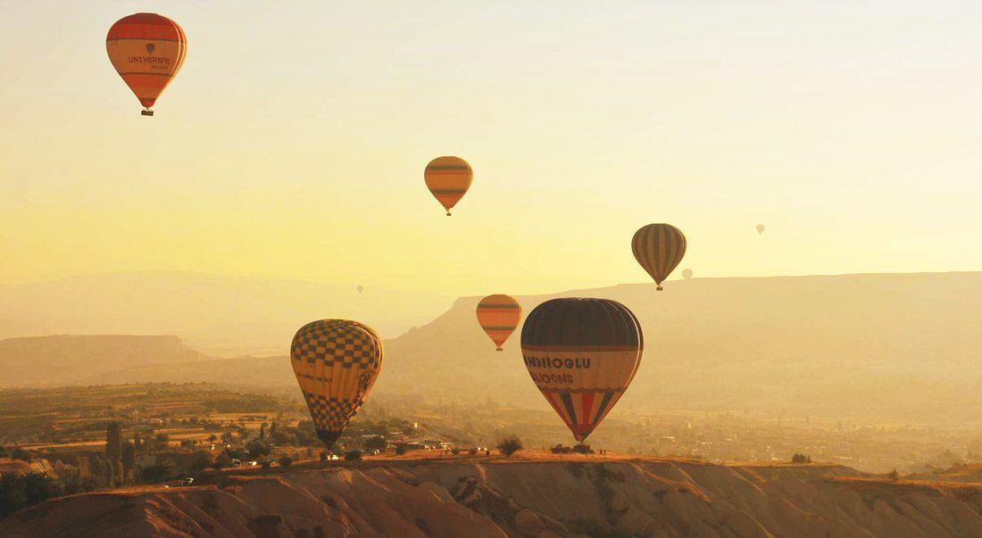İstanbul, Kayseri ve Kapadokya'dan turist ortaklığı