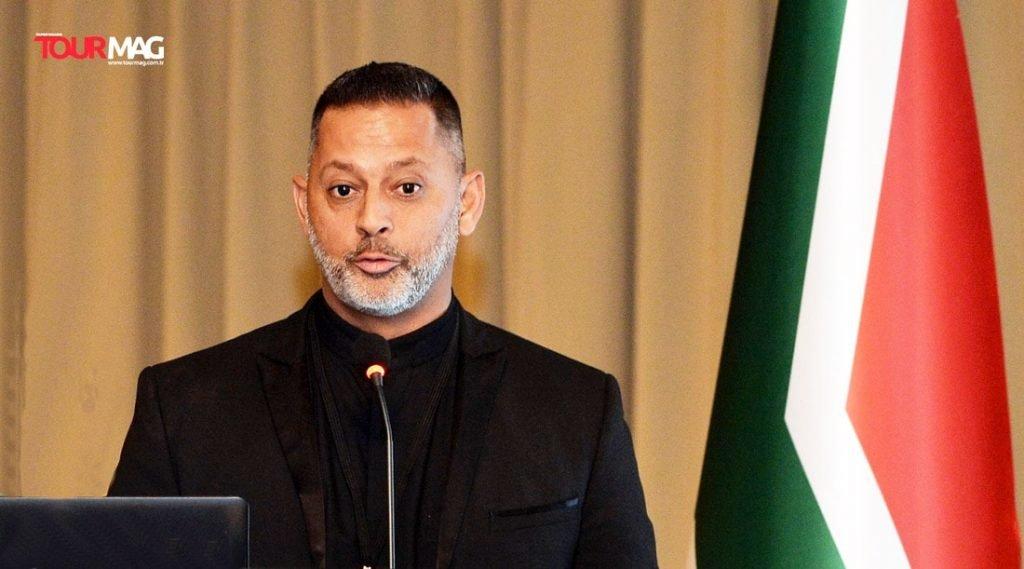 Güney Afrika Turizm Ofisi'nin Türkiye ve Ortadoğu'dan sorumlu müdürü Sadiq Dindar