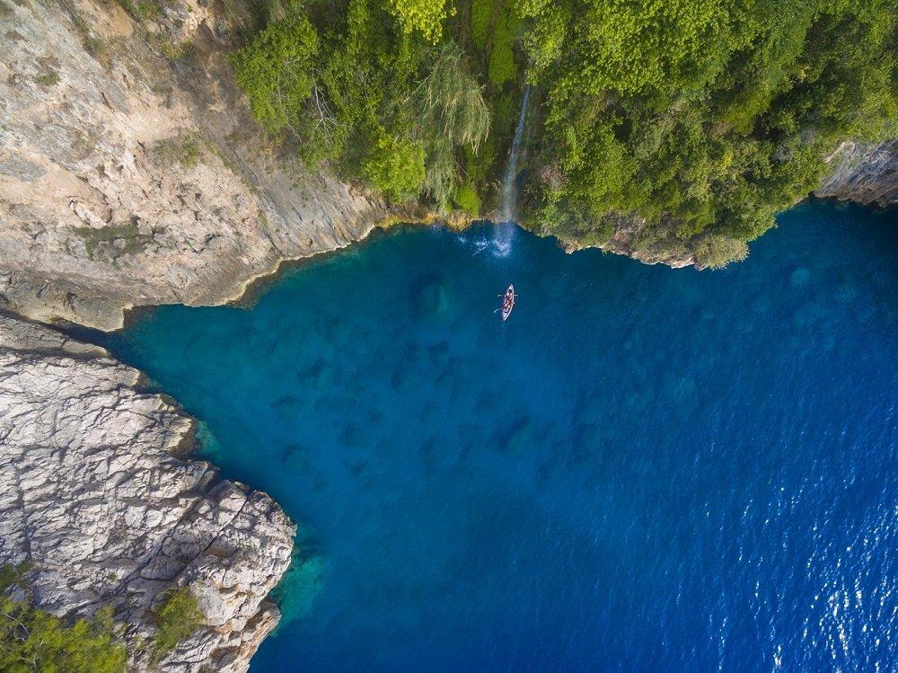 Fethiye'de bir yeryüzü cenneti; Faralya