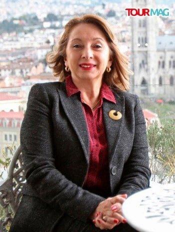 Ekvador Cumhuriyeti Turizm Bakanı Rosi Prado de Holguin